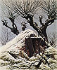 Snowy Hut | Caspar David Friedrich
