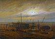 Am Meeresstrand | Caspar David Friedrich