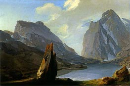 Alpine Landscape | Caspar Wolf | outdated