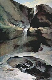 The Geltenbachfall im Winter | Caspar Wolf | Painting Reproduction
