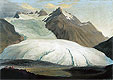 The Rhone Glacier Seen from the Valley at Gletsch | Caspar Wolf