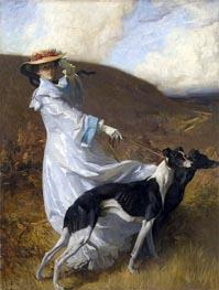 Diana of the Uplands, c.1903/04 von Charles Wellington Furse | Gemälde-Reproduktion