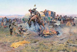 The Camp Cook's Troubles | Charles Marion Russell | veraltet