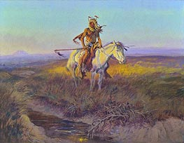 The Scout, 1915 by Charles Marion Russell | Painting Reproduction