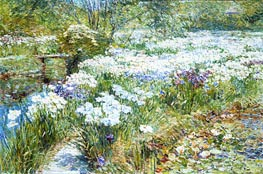 The Water Garden | Hassam | outdated