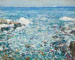 Surf, Isles of Shoals | Hassam | outdated