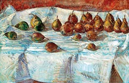 Winter Sickle Pears, 1918 by Hassam | Painting Reproduction