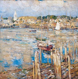 Gloucester | Hassam | Painting Reproduction