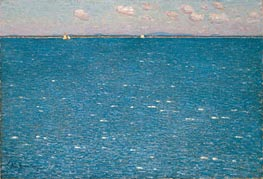 The West Wind, Isles of Shoals, 1904 by Hassam | Painting Reproduction