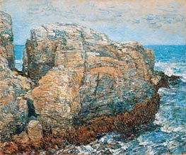 Sylph's Rock, Appledore, 1907 by Hassam | Painting Reproduction