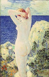 The Bather, 1915 by Hassam | Painting Reproduction