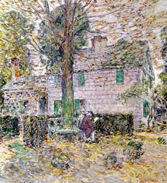 Indian Summer in Colonial Days | Hassam | Painting Reproduction
