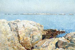 Duck Island | Hassam | Painting Reproduction