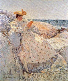 Isles of Shoals (Summer Sunlight), 1892 by Hassam | Painting Reproduction