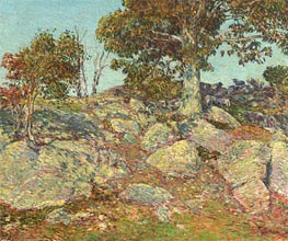 September, 1906 by Hassam | Painting Reproduction