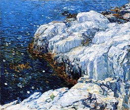Jelly Fish, 1912 by Hassam | Painting Reproduction