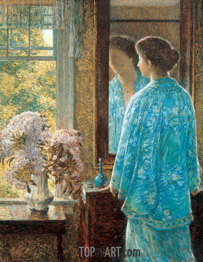 Twenty-Sixth of June, Old Lyme, 1912 | Hassam | Painting Reproduction