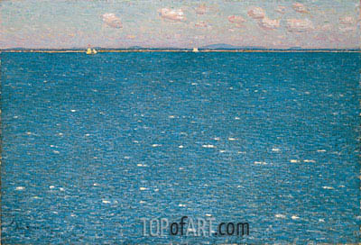 Hassam | The West Wind, Isles of Shoals, 1904