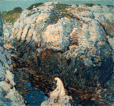 The Lady of the Gorge, 1912 | Hassam| Painting Reproduction