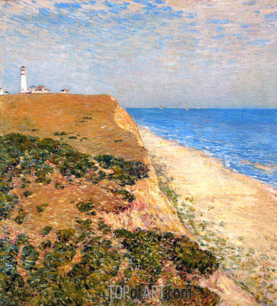 Highland Light, 1900 | Hassam | Painting Reproduction