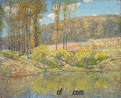 Spring, Navesink Highlands, 1908 | Hassam | Painting Reproduction