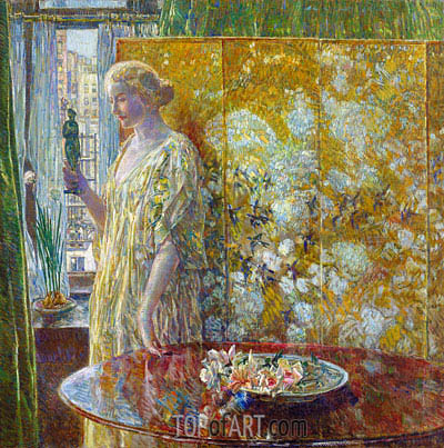 Hassam | Tanagra (The Builders, New York), 1918