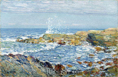 Isle of Shoals, 1906 | Hassam | Painting Reproduction