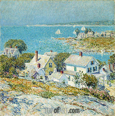 Hassam | New England Headlands, 1899