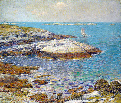 Isles of Shoals, 1899 | Hassam| Painting Reproduction