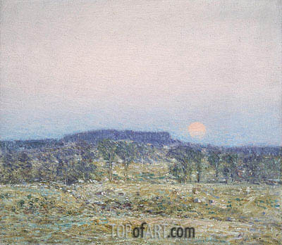 Hassam | September Moonrise, 1900