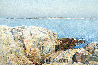 Duck Island, 1906 | Hassam| Painting Reproduction