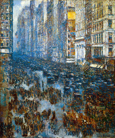 Hassam | Fifth Avenue, 1919