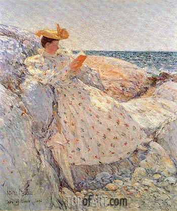 Isles of Shoals (Summer Sunlight), 1892 | Hassam | Painting Reproduction
