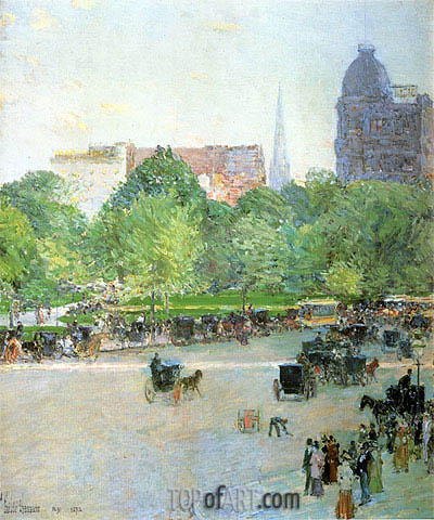 Hassam | Union Square, 1892