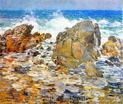 Hassam | Surf, Appledore, undated