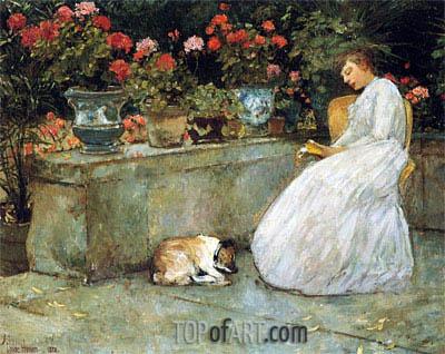 Hassam | Reading, 1882