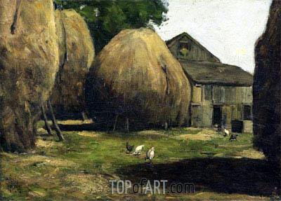 Hassam | Haystacks, 1887