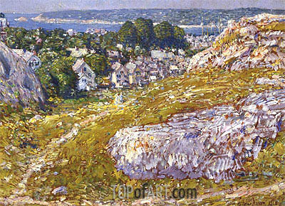 Hassam | Norman's Woe, Gloucester, Massachusetts, 1918