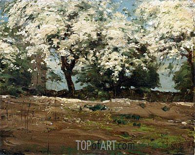Hassam | Blossoms, c.1880
