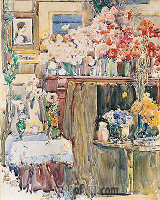 Hassam | The Altar and Shrine, 1892
