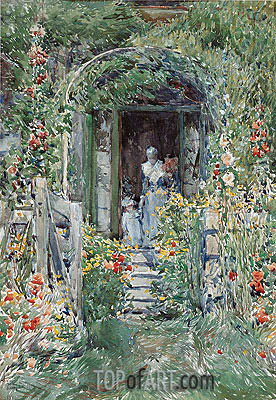 Hassam | The Garden in Its Glory, 1892