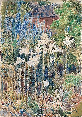 Hassam | Flower Garden, 1893