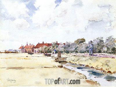 Hassam | Canal Scene, 1883