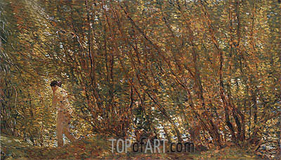 Under the Alders, 1904 | Hassam | Painting Reproduction