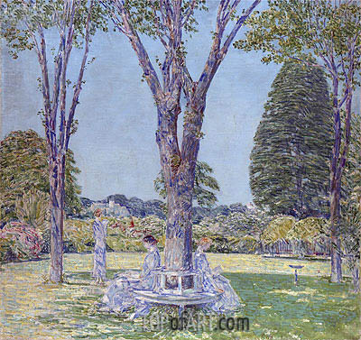 The Audition, East Hampton, 1924 | Hassam| Painting Reproduction