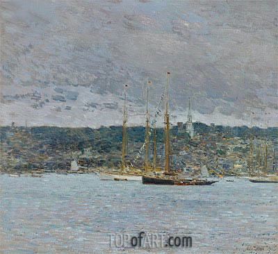 Newport, 1901 | Hassam | Painting Reproduction