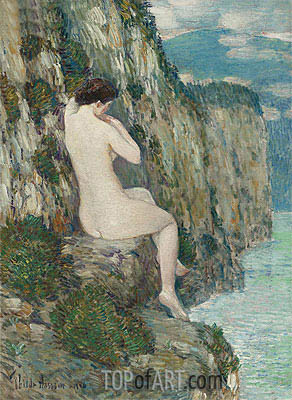 Nude: Isle of Shoals, 1906 | Hassam | Painting Reproduction