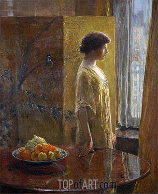 Hassam | The East Window, 1913