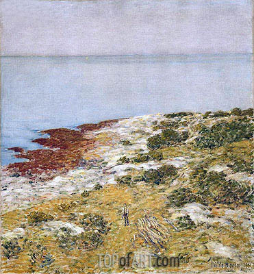 Morning Calm, Appledore, 1901 | Hassam | Painting Reproduction