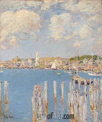 Hassam | Gloucester Inner Harbor, c.1899